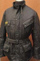 RARE BARBOUR INTERNATIONAL POLARQUILT JACKET BLACK XXL (2XL) JC95