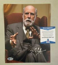 Vint Cerf Signed 8x10 Photo Autographed AUTO Beckett BAS COA