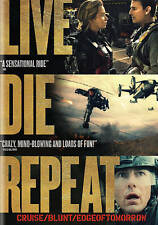 LIVE DIE REPEAT: EDGE OF TOMORROW (NEW DVD)