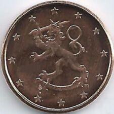 Finland    2002      1 cent  Zeldzaam - Extréme rare !!    UNC uit de rollen !!!
