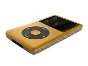 Apple iPod Classic Full Gold LuxPod 7th Gen 256GB-1TB Flashmod + 2000mAh Battery