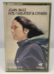 JOAN BAEZ - HITS GREATEST AND OTHERS - CASSETTE TAPE - VERY GOOD CONDITION