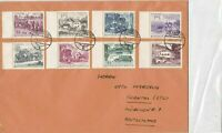 Austria 1964 Hermagor Cancel Transport themed Stamps Cover to Germany ref 22894