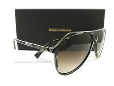 Dolce & Gabbana DG4341 Brown Sunglasses 569/13 New Authentic