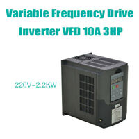 2.2KW 3HP 220V Single To 3 Phase Variable Frequency Drive Inverter CNC VFD