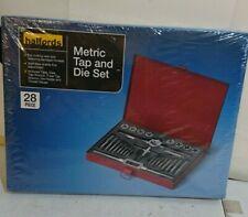 Halfords 28 Piece Metric Tap & Die Set