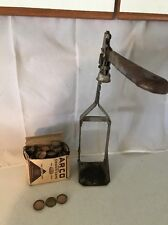 Vtg Bottle Capper Indestro? With A Gross Of Cork Seal Crown Caps Gold Home Brew