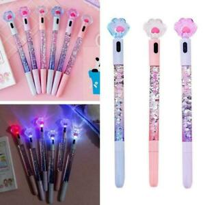 Creative Highlighters Gel Pen School Office Supplies Cat Gift Flare Paw
