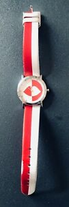 Lulu Guinness Lips Red and White Wristwatch