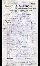 """SAINT-MAUR (94) USINE d'ARTICLES en cuir / VETEMENTS & GANTS """"LE SUPER"""" en 1938"""