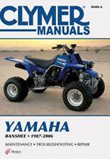Clymer M486-6 Service & Repair Manual for 1987-06 Yamaha YFZ350 Banshee