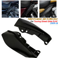 Mid-Frame Air Heat Deflector Trim Accents Shield Für Harley/Touring Street Glide