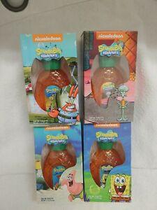 New SpongeBob lot of 4 1.7oz / 50ml Eau De Toilette New In Box - SEALED