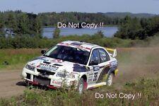 AN puhakka Mitsubishi Carisma GT 1000 Lakes Rally 2001 Fotografia