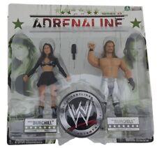 W465 WWE WRESTLING figurines Adrenaline 33 Paul Burchill & KATIE LEA