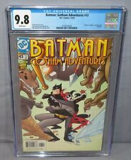 BATMAN: GOTHAM ADVENTURES #43 (Harley Quinn cover app) CGC 9.8 NM/MT DC 2001