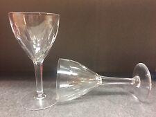 9 verres Mod. NESTOR taille Hamlet - En VERRE . H: 142 mm  Val St Lambert