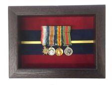 Small Royal Artillery Regimental Miniatures Medal Display Case