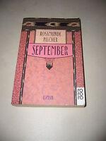 Rosamunde Pilcher - September - Taschenbuch - sehr gut erhalten