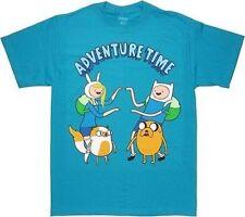 Adventure Time With Finn & Jake Twins Cartoon Network Tv Show Adult T Shirt M