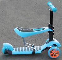 Kinderroller Dreirad Cityroller + Sitz Kinder Scooter