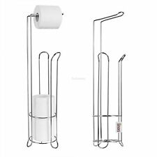 Edelstahl Toilettenpapierhalter Toiletten WC Rollenhalter Papierhalter Stand NEU