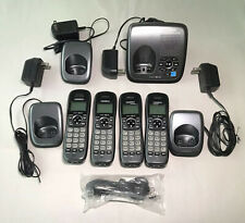 Uniden DECT1480-4 DECT 6.0 Cordless Phone System 4 Handsets & Answering Machine
