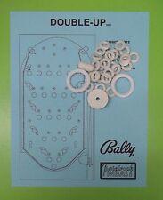 1971 Bally Double-Up pinball / bingo rubber ring kit