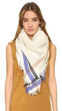 Nordstrom Rag & Bone Addie Square Wool Scarf Wrap Cape Shawl MSRP $195