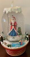 Brand New SANTA CHRISTMAS Musical Snow Globe - RRP $179