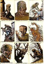 Bernie Wrightson Monster Stickers Lot of 50 1996 Horror Comic Book Art Creepy