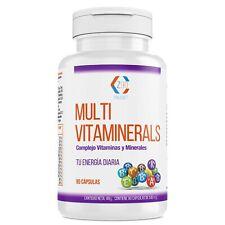 VITAMINAS, Minerales, Multivitaminas con B,B2 B3 B5 B6 B12+Vitamina C, 90Cápsul