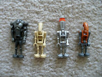 LEGO Star Wars - Droids Including a Rare Cannon Armed Super Battle Droid