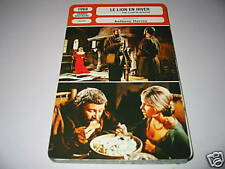 G- the lion in winter peter o'toole French film card