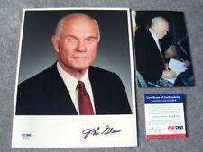 John Glenn Rare! IP signed 8x10 PSA/DNA PROOF!!