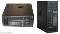 Black Micro ATX Desktop/Tower Case / Chassis .300W PSU. Q-Tec EL-Micro. CS101B