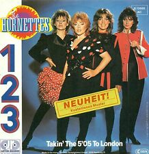 """THE HORNETTES - 1 2 3 / TAKIN' THE 5'05 TO LONDON 7"""" SINGLE (C512)"""