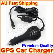 Premium Universal GPS Car Charger (Mini USB Plug) for Garmin Tomtom Navman etc