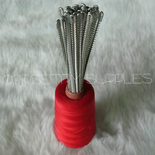 Corset Bustier Spiral Steel Boning Replacement Corsetry Craft Supplies Lot of 12