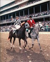 SECRETARIAT & RON TURCOTTE ORIGINAL 1973 KENTUCKY DERBY PHOTO
