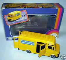 SIKU MERCEDES 809 D POST VAN POSTES POSTE PTT BOX 1/55
