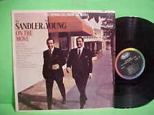 SANDLER & YOUNG ON THE MOVE LP RARE CAPITOL ST 2686 STEREO VINYL RECORD