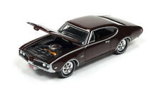 `69 Oldsmobile Cutlass 442 Maroon 1969*RR*Johnny Lightning Muscle Cars 1:64 OVP
