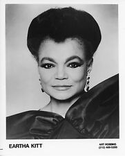 EARTHA KITT – ORIGINAL 1995 PUBLICITY PORTRAIT PHOTO – NEAR MINT
