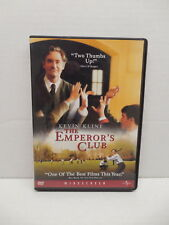 Emperor's Club DVD Schoolboys Movie Kevin Kline Emile Hirsch Edward Herrmann
