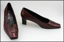 Block Leather Formal Pump, Classic Heels for Women