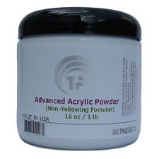 Advanced Acrylic Powder . The Professional Acrylic Nails system 16 oz .