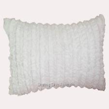 1 Pair Tuxedo Ruffle Pillow Sham 100% Egyptian Cotton 800TC All Size & Color
