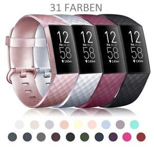 Fitbit Charge 2 3 4 Armband Ersatzband Edelstahl Nylon Milanese Sport LederWatch