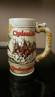Vintage Budweiser Clydesdales Anheuser-Busch Inc Stein Ceramarte